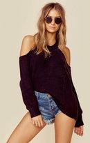 Indah ambrosia rib knit sweater