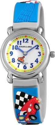 Excellanc Unisex Watch Analogue Rubber Quartz 407023000051