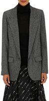 Isabel Marant Women's Kiana Herringbone Convertible Jacket-DARK GREY