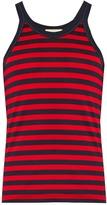 Gucci Striped cotton-jersey tank top