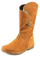 El Naturalista N916 Women Round Toe Leather Tan Mid Calf Boot.