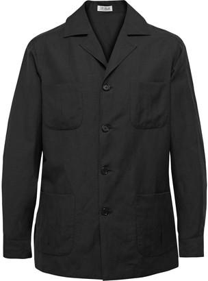 De Petrillo Wool And Linen-Blend Jacket