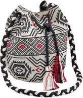 Linea Tesini Drawstring Textile Bag