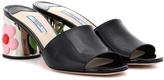 Prada Patent leather slip-on pumps