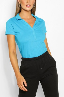 boohoo Basic Polo T-shirt