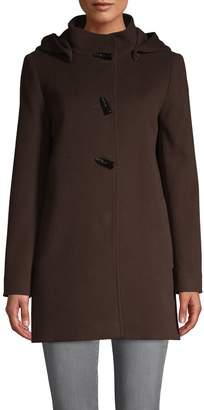 Cinzia Rocca Hooded Duffel Coat