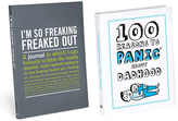 Knock Knock Panic About Dadhood Book & I'm So Freaking Freaked Out Journal