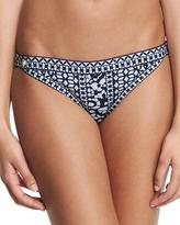 Herve Leger Printed Hipster-Side Swim Bottom