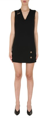 Versace V-Neck Dress