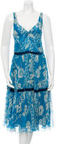 Tracy Reese Sleeveless Silk Dress