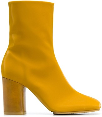 Acne Studios Block Heel Ankle Boots
