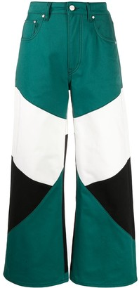 Kirin Colour-Block Trousers