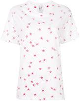 Zoe Karssen inside-out star print T-shirt