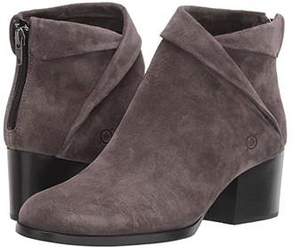 Børn Abbe (Dark Grey Suede) Women's Boots