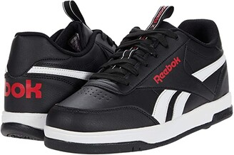 Heelys Reebok Court Low (Core Black/White/Vector Red) Boy's Shoes