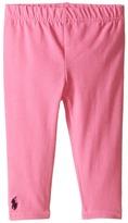 Ralph Lauren Big PP Solid Leggings Girl's Casual Pants