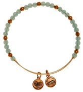 Alex and Ani Color Classics Bluebell Beaded Extendable Wire Bangle