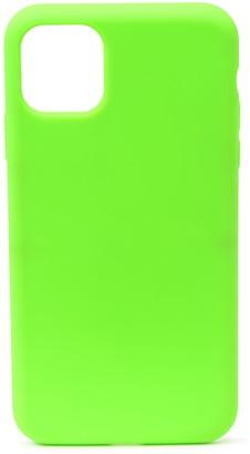 Felony Case Neon Green Silicone iPhone 11 Pro Max Case