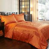 Kaleidoscope Orange Osaka Bedspread