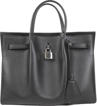 Lanvin Black Bogey M Bag