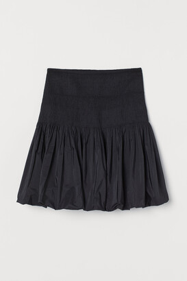 H&M Smock-waisted puffy skirt