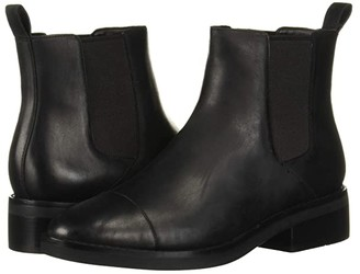 Cole Haan Mara Grand Chelsea Bootie (Black Leather WP) Women's Shoes