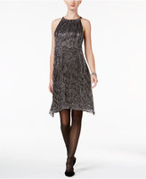 Alfani Petite Metallic Halter Dress, Only at Macy's