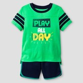 Cat & Jack Toddler Boys' Top and Bottom Sets Island Green