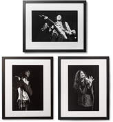 Sonic Editions Framed 27 Club Triptych Prints, 17 X 21 - Black