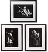 Sonic Editions Framed 27 Club Triptych Prints, 17 X 21