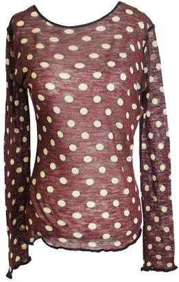 Jean Paul Gaultier Multicolour Wool Top for Women Vintage