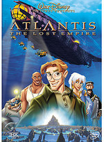Disney Atlantis: The Lost Empire DVD