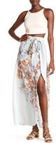 Free People Bri Bri Butterfly Maxi Skirt