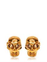 Alexander McQueen Brass Skull Cufflinks