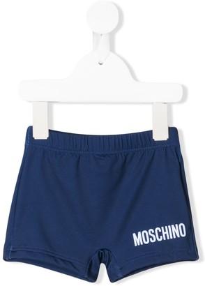 MOSCHINO BAMBINO Printed Swim Shorts