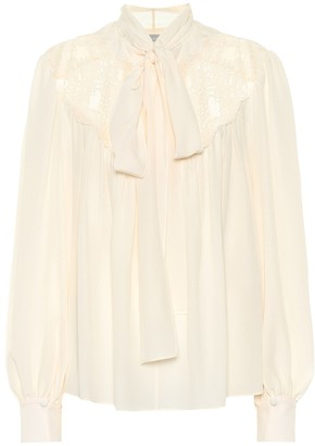 Stella McCartney Silk crApe de chine blouse