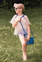 MAE LI ROSE Girls Crochet Top