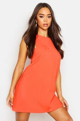 boohoo Tab Side Shift Dress