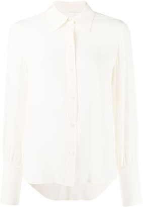 Chloé Ruched Sleeves Blouse