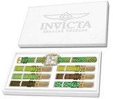 Invicta 10330 Women's Wildflower Classique Quartz Crystal Accented Green Watc...