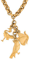 Salvatore Ferragamo Animal Charms Necklace