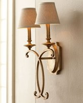 John-Richard Collection Rustic Bronze Sconce