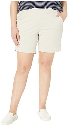 Jag Jeans 8 Plus Size Gracie Pull-On Shorts (Mission) Women's Shorts