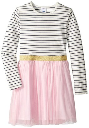 Toobydoo Tulle Skirt Party Dress (Toddler/Little Kids/Big Kids) (Pink) Girl's Dress