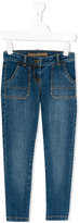 Zadig & Voltaire Kids - slim-fit jeans - kids - Cotton/Spandex/Elastane - 4 yrs