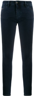 Diesel High Rise Skinny Fit Jeans