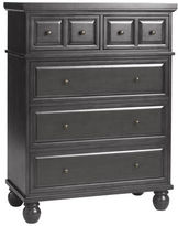 Pier 1 Imports Ashworth Rubbed Black Chest