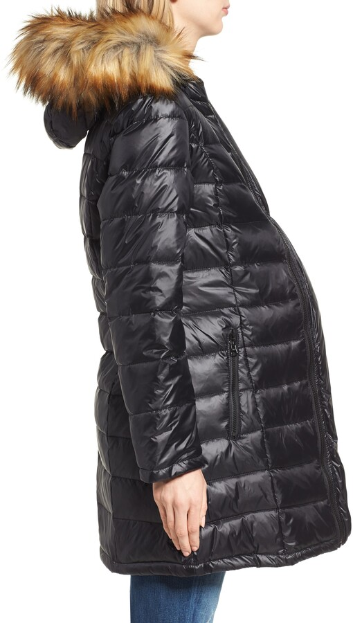 Thumbnail for your product : Modern Eternity Quilted 3-in-1 Maternity/Nursing Parka