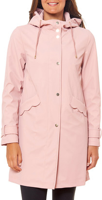 Kate Spade Matte Water-Resistant Raincoat
