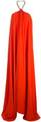 Oscar de la Renta Halterneck Gown